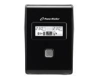 Power Walker VI 650 LCD (650VA/360W, 2xPL, USB, LCD, AVR) - 173982 - zdjęcie 2