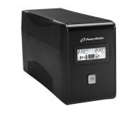 Power Walker VI 850 LCD (850VA/480W, 2xPL, USB, LCD, AVR) - 173991 - zdjęcie 3