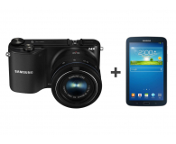 Samsung NX2000 + 20-50mm + Galaxy Tab 3 T210 + 32GB - 174249 - zdjęcie 1