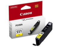 Canon CLI-551Y yellow 332str. ( 6511B001 ) - 121844 - zdjęcie 1