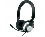 Creative HS-720 czarno-srebrne z mikrofonem - 64455 - zdjęcie 1