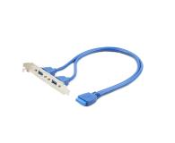 Gembird USB 3.0 x2 (IDE 20 pin) - 177662 - zdjęcie 1
