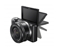 Sony Alpha a5000 + 16-50 + 55-210 (ILCE-5000Y) czarny - 177470 - zdjęcie 4