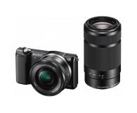 Sony Alpha a5000 + 16-50 + 55-210 (ILCE-5000Y) czarny - 177470 - zdjęcie 1