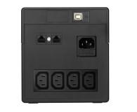 Power Walker VI 1000 PSW (1000VA/700W, 4xIEC, AVR, USB, LCD) - 176711 - zdjęcie 2
