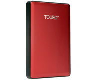 Hitachi 500GB 7200obr. USB 2,5'' czerwony USB 3.0 Touro S - 182284 - zdjęcie 1