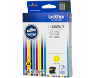 Brother LC525XLY yellow 1300str. - 180538 - zdjęcie 1