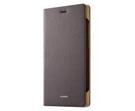Huawei P8 Mystic Champagne + Flip cover brązowy - 268205 - zdjęcie 9