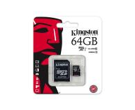 Kingston 64GB microSDXC Class10 zapis 10MB/s odczyt 45MB/s - 263201 - zdjęcie 3