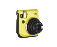 Fujifilm Instax Mini 70 żółty + wkłady 2x10+ etui - 619878 - zdjęcie 2