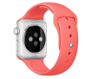 Apple Silikonowy do Apple Watch 42 mm różowy - 273668 - zdjęcie 1