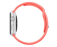 Apple Silikonowy do Apple Watch 42 mm różowy - 273668 - zdjęcie 4