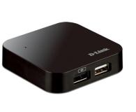 D-Link DUB-H4 USB 2.0 (4 porty, aktywny, zasilacz) - 31486 - zdjęcie 1