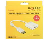 Delock Adapter DisplayPort - HDMI 4K (aktywny) - 237586 - zdjęcie 2