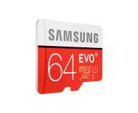 Samsung 64GB microSDXC Evo+ zapis 20MB/s odczyt 80MB/s  - 241030 - zdjęcie 2