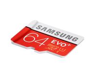 Samsung 64GB microSDXC Evo+ zapis 20MB/s odczyt 80MB/s  - 241030 - zdjęcie 3