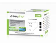 Ever EASYLINE 850 AVR (850VA/480W, 2xPL, USB, AVR, LCD) - 241508 - zdjęcie 3