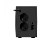 Ever EASYLINE 850 AVR (850VA/480W, 2xPL, USB, AVR, LCD) - 241508 - zdjęcie 2