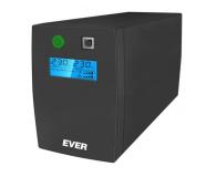 Ever EASYLINE 850 AVR (850VA/480W, 2xPL, USB, AVR, LCD) - 241508 - zdjęcie 1