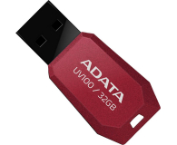 ADATA 32GB DashDrive Value UV100 czerwony - 240315 - zdjęcie 2