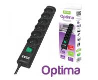 Ever Optima - 6 gniazd, 1,5m, czarna - 246221 - zdjęcie 4