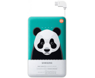 Samsung Power Bank 11300 mAh zielony panda - 246145 - zdjęcie 1