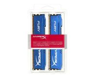 HyperX 16GB (2x8GB) 1600MHz CL10 Fury Blue  - 180499 - zdjęcie 2