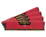 Corsair 16GB 2666MHz Vengeance LPX Red CL16 (4x4GB) - 213367 - zdjęcie 2