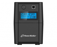 Power Walker VI 850 SE LCD (850VA/480W, 2xPL, USB, LCD, AVR) - 208707 - zdjęcie 1