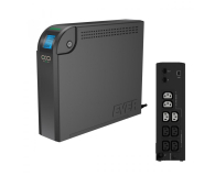 Ever ECO 1000 LCD (1000VA/600W, 8xIEC, RJ-45, USB, LCD) - 172030 - zdjęcie 1