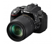 Nikon D5300 czarny + 18-105VR  - 166810 - zdjęcie 1