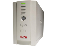 APC Back-UPS CS (350VA/210W, 4xIEC, RJ-45) - 27381 - zdjęcie 1