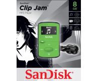 SanDisk Clip Jam 8GB zielony - 251396 - zdjęcie 2