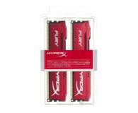 HyperX 16GB 1600MHz Fury Red CL10 (2x8GB) - 180507 - zdjęcie 2