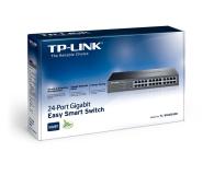 TP-Link 24p TL-SG1024DE Rack (24x10/100/1000Mbit) - 175740 - zdjęcie 3