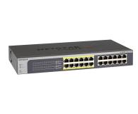 Netgear 24p JGS524PE-100EUS (24x10/100/1000Mbit 12xPoE) - 214518 - zdjęcie 1