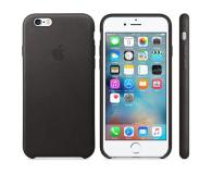 Apple iPhone 6s Leather Case czarny - 259184 - zdjęcie 1