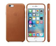 Apple iPhone 6s Leather Case jasny brązowy - 259178 - zdjęcie 1