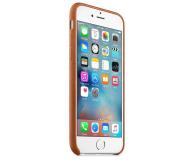 Apple iPhone 6s Leather Case jasny brązowy - 259178 - zdjęcie 4