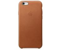 Apple iPhone 6s Leather Case jasny brązowy - 259178 - zdjęcie 2