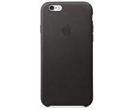 Apple iPhone 6s Leather Case czarny - 259184 - zdjęcie 2