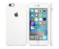 Apple Silicone Case do iPhone 6s biały - 259188 - zdjęcie 1