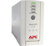 APC BACK-UPS CS (650VA/400W, 4xIEC, 2xRJ-45, AVR) - 260370 - zdjęcie 1