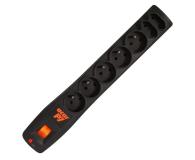HSK DATA Acar P7 1,5m czarna (7 gniazd) - 30017 - zdjęcie 1