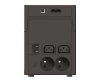Ever EASYLINE 1200 (1200VA/600W, 2xIEC, 2xFR, AVR, USB) - 261911 - zdjęcie 1