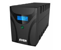 Ever EASYLINE 1200 (1200VA/600W, 2xIEC, 2xFR, AVR, USB) - 261911 - zdjęcie 2