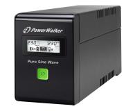 Power Walker LINE-INTERACTIVE (600VA/360W, 2xPL, AVR, LCD) - 253672 - zdjęcie 1