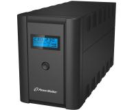 Power Walker LINE-INTERACTIVE (1200VA/600W, 2xPL/IEC, AVR, LCD) - 253675 - zdjęcie 1