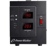 Power Walker STABILIZATOR NAPIĘCIA (3000VA/2400W, Schuko, AVR) - 253709 - zdjęcie 2