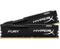 HyperX 16GB (2x8GB) 2666MHz CL16  Fury Black - 359718 - zdjęcie 2